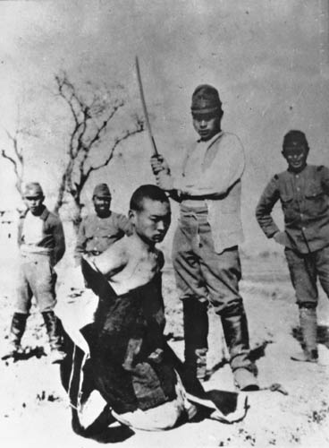নানকিং গনহত্যা : ভদ্র জাপানিদের ভয়ংকর রুপ!