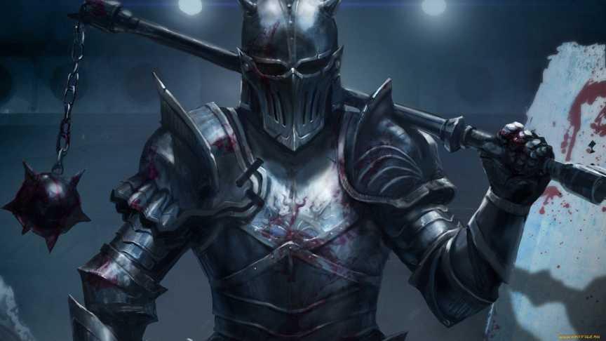 যোদ্ধা রাজা, A knight king