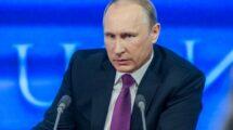 Vladimir putin in a meeting